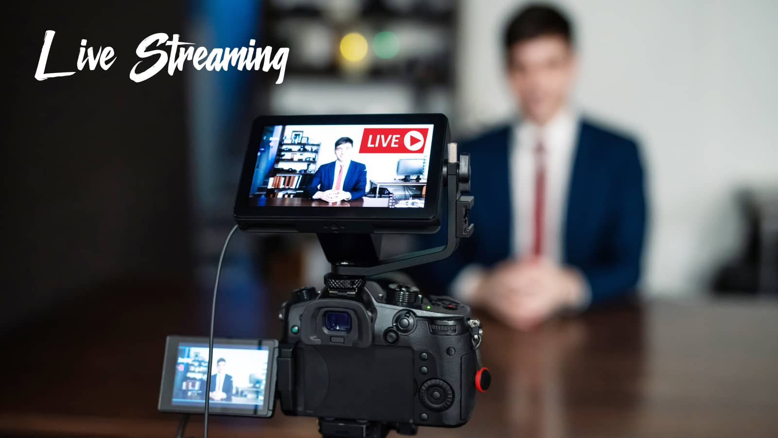 BtoB企業向けライブ動画配信代行サービス「LiB リブ」