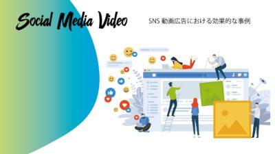 SNS動画広告における効果的な事例