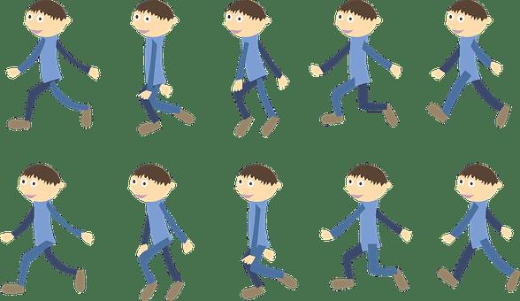 キャラクターアニメーション