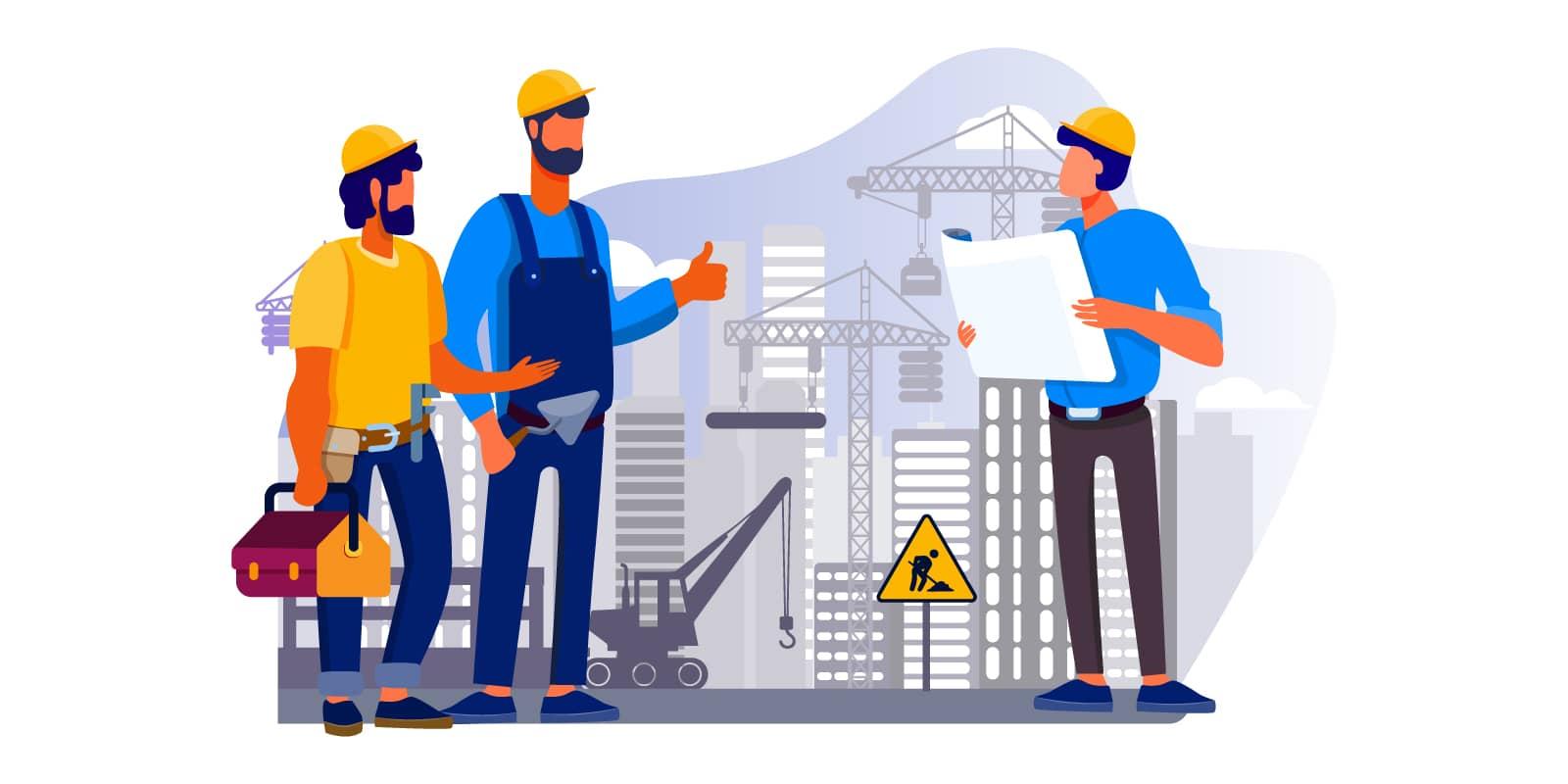 建設業の実績紹介